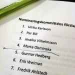 Ulrika Karlsson toppar moderaternas lista i Uppsala län