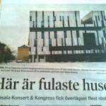 Uppsalas konserthus fulaste huset i stan