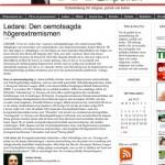 Socialdemokrat i Malmö tror på judisk extremistisk sammansvärjning