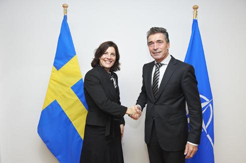 Sverige i unikt mote med nato