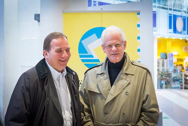 Ingvar Carlsson gjorde sitt sämsta val som partiledare 1991. S fick då 37,6 procent av rösterna.