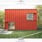Svenska folkets drömhus är inte en röd container