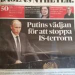 Putin på förstasidan igen