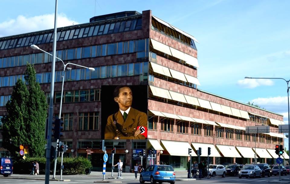 """Förslag till ny utsmycking av stadshuset i Uppsala. """"Tankeväckande nytolkning av vår komplexa historia, insatt i en ny intressant kontext. Ett normkritisk debattinlägg där konstnären utmanar och problematiserar"""", skriver Dimitri Sjostakovitj, kulturstrateg på Uppsala kommun. (Bilden är inte gjord av mig utan av en annan person och får därför inte laddas ned utan tillstånd.)"""